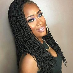 Thank you so much @beauty_depot for sending @bobbiboss_hair crochet micro locs! She loves them! ❤️❤️😍 Hair and makeup by me | @pureglamourmua #NycMakeupartist #naturalhairluv #amazingnaturalhair #voiceofhair #naturalhairstyles #naturalhairdoescare #naturalhairdaily #nychairstylist #bobbiboss #morphebrushes #janetcollection #kinkychicks #trialsntresses #naturallyshesdope #curlsaunatural #myhaircrush #protectivestyles #myhairtexture #blackhairmag #naturalhaircommunity #braidsgang #Natural...