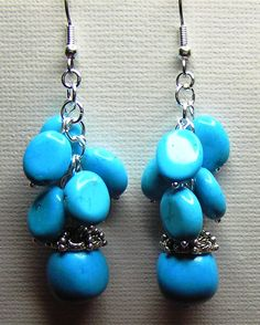 Turquoise Drops.......