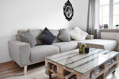 COM Sofa, Couch, Interior, Blogger Wohnung, Graues Sofa, Wohnzimmer