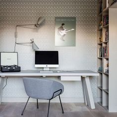 """What do you think of our Feston lounge chair and Double Shady wall lamp as seen in the last episode of 'Weer verliefd op je huis""""? Last Episode, Office Desk, Corner Desk, Lounge, Chair, Wall, Inspiration, Furniture, Instagram"""