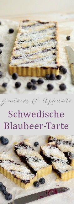 blaubeer tarte - blaubeeren rezepte
