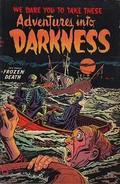 Adventures into Darkness, Classic FROZEN DEATH Issue!