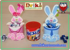 Risultati immagini per páscoa em eva Dyi Crafts, Foam Crafts, Easter Crafts, Decor Crafts, Crafts For Kids, Diy Recycle, Baby Bunnies, Bunny, All Craft