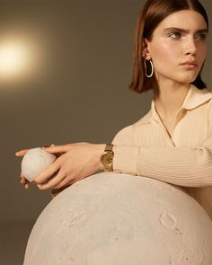 A jewelry collection inspired by the moon as it represents feminine power and protection. Fashion pieces that reproduce its unique surface with a matte needle finish.  Heart Earrings, Drop Earrings, Jewelry Collection, Sculpting, Heart Ring, Feminine, Jewels, Pendant, Unique