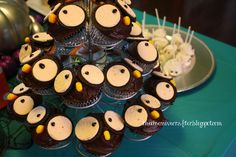 Owl cupcakes #owl #cupcakes