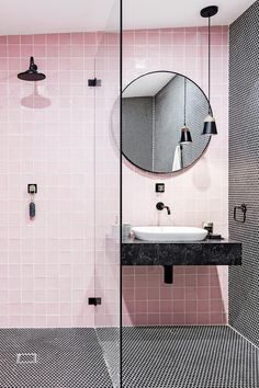 Home Interior Lighting Three Birds Renovations turn a rundown beige caravan into the ultimate weekender, complete with pink bathroom!