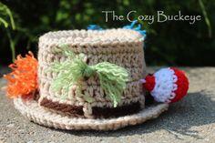 Newborn Fisherman Fishing Hat Crochet Pattern by TheCozyBuckeye