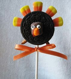 Thanksgiving cookie pops cookies thanksgiving turkey thanksgiving pictures gobble gobble thanksgiving ideas