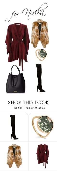 """For Norika"" by boglarka-pinkeova on Polyvore featuring Yves Salomon and Zimmermann"
