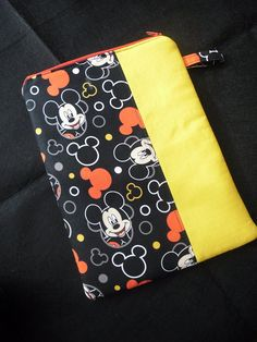 Tablet/ e-device sleeve or ' what ever bag' - lightly padded, with zipper closure