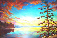 Michael Foers artwork presented by Gallery on the Lake