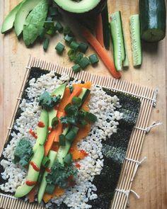 Wild rice with veggies
