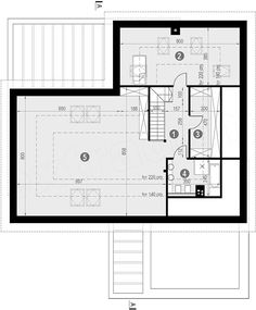 Projekt domu HomeKoncept-29 199,74 m2 - koszt budowy - EXTRADOM House Plans, Floor Plans, Houses, Concept, How To Plan, Cunha, Blueprints For Homes, Homes, House Design