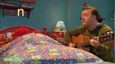 Sesame Street: Celebrity Lullabies With Ricky Gervais, via YouTube.