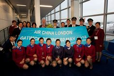 Gatwick Airport welcomes Air China - helping the UK become better connected