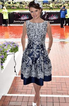 Francesca Cumani poses for a photograph in the mounting yard on Oaks Day at Flemington Racecourse in Melbourne, Thursday, Nov. Spring Racing Carnival, Carnival 2015, Top Celebrities, Celebs, Julian Smith, Oaks Day, Race Wear, Lead Lady, Melbourne Cup