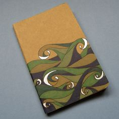 Waves Moleskine Notebook Small by NanukDesigns on Etsy