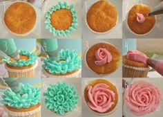 cupcake idea F 30+ Wonderful Cupcake Ideas