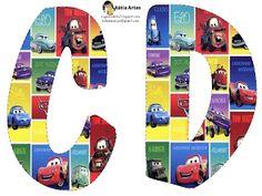 Alfabeto de Cars.   Oh my Alfabetos!
