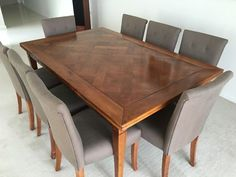 Beautiful cherrywood dining table and 8 chairs | Dining Tables | Gumtree Australia Ku-ring-gai Area - St Ives | 1106555136