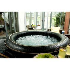 Fun Ideas, Balcony, Tub, Bathing, Luxury, Outdoor Decor, Bath, Bathtubs, Swim