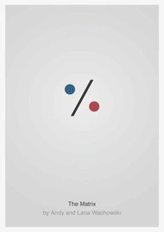 Here we have a huge selection of perfectly minimal movie posters that we've found across the web.