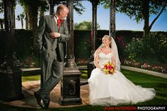 Another from Nicola and Rob's Florida Wedding - lit with QFlash as key light and SB900 as accent light.
