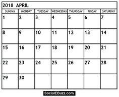 The 13 best april 2018 calendar images on pinterest printable april calendar 2018 httpsocialebuzzapril 2018 calendar maxwellsz