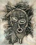 BL Collagraph, Printmaking, Owl, Bird, Animals, Animales, Animaux, Owls, Birds
