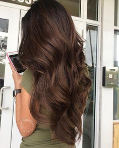 Angelica Triana on Freakin Hair Goals Hairspraytion 739997782509652274 Brown Hair Balayage, Hair Highlights, Light Hair, Dark Hair, Red Hair, Brown Hair Shades, Brown Hair On Brown Skin, Light Brown Hair Colors, Brown Hair Looks