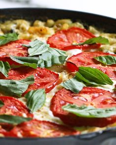 Caprese Mac 'N' Cheese Recipe by Tasty