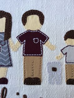ITH Kyle My Family Photo Applique DIGITAL by BackYardStitchin