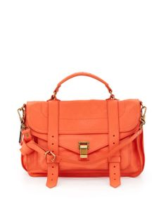 Love the Proenza Schouler PS1 Medium Satchel Bag, Grapefruit on Wantering | Lustworthy Bags | womens orange medium satchel #womensbag #womenssatche #womenshandbag #orangesatche #orangebag #womenswear #womensstyle #womensfashion #wantering http://www.wantering.com/womens-clothing-item/ps1-medium-satchel-bag-grapefruit/agiLL/