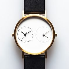 ~The Long Distance watch by Kitmen Keung displays two time zones at once...how romantic...