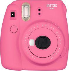 Birthday Gifts for Teenagers Fujifilm Instax Mini 9 Instant Camera. Pretty in flamingo pink. Graduation gifts for daughter. Pink Polaroid Camera, Polaroid Instax, Instax Mini Camera, Fujifilm Instax Mini 8, Mini Polaroid, Instax Mini 8 Rosa, Instax Mini 8 Pink, Fuji Instax, Camara Fujifilm