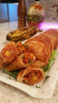 Empanadillitas de Corn beef, amarillos y queso - Chef Edgardo Noel