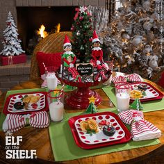 This scout elf surprised his family with a Sunday Brunch! Yum! | Elf on the Shelf Ideas