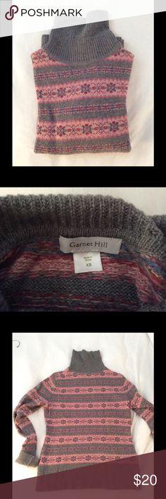J Crew wool fair isle sweater small | Nice, Wool and Sweaters