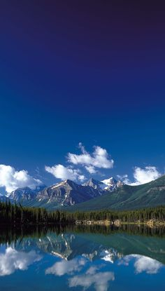 A Sunny Day in Canadian Rockies
