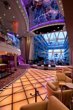 Deck 8 & 9 Midship Allure of the Seas - Royal Caribbean International Caribbean Cruise Line, Best Cruise Ships, Royal Caribbean Ships, Cruise Travel, Cruise Vacation, Dream Vacations, Cruise Trips, Grandeur Of The Seas, Enchantment Of The Seas
