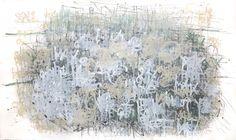 ©Dan Miller, Untitled (188), 2014, Acrylique et graphite sur papier, 107 x 182 cm, Courtesy Creative Growth Art Center