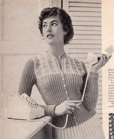 Stitchcraft Magazine January 1957 - Vintage Knitting Patterns for Women Men and Children
