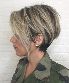 Long Messy Ash Blonde Pixie