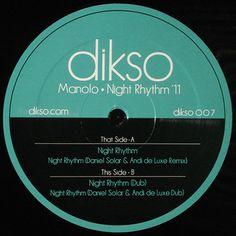 Manolo - Night Rhythm '11 [Dikso, 2011]
