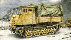 Steyr RSO type 3  mod.OST Raupenschlepper