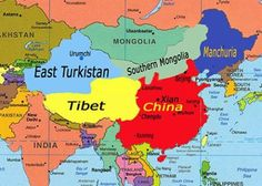 Really Countries - East Turkestan - Manchuria - Tibet - İnner Mongolia - Taiwan… Mongolia, Eurasian Steppe, Golden Horde, Turkic Languages, China Map, Knit Rug, Dna Genealogy, Blue Green Eyes, Buddhist Monk