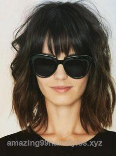 Incredible Short Shag Hairstyles – Bed Head Bangs ..