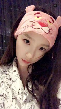 Taeyeon snapchat#1