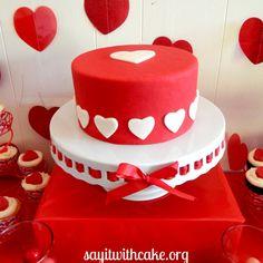 Αποτέλεσμα εικόνας για valentine's cake
