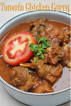 Each weekend hubby gets chicken for lunch, i will be looking for new recipes to try. This is one recipe which i came up with. Duck Recipes, Spicy Recipes, Curry Recipes, Indian Food Recipes, Asian Recipes, Cooking Recipes, Oven Recipes, Beef Steak Recipes, Chicken Recipes